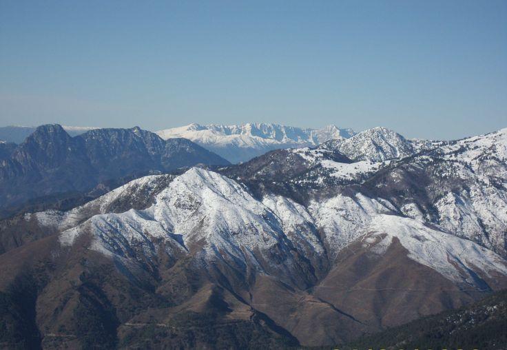 Smolikas Mountain,view from Vasilitsa Ski Resort,Grevena Greece