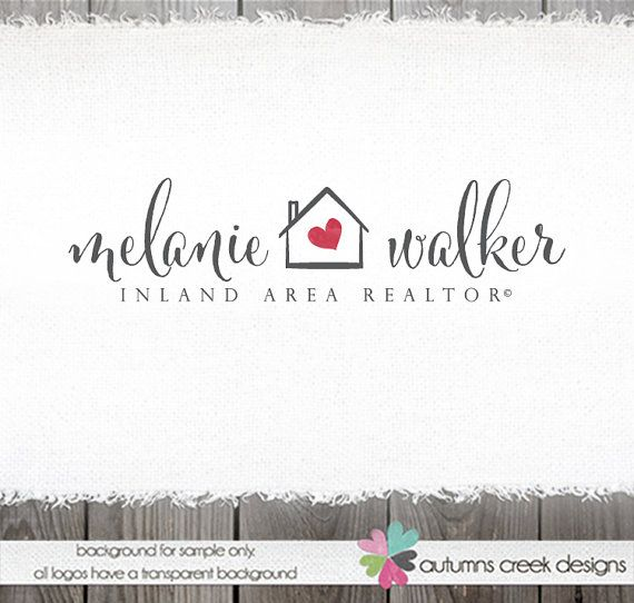 real estate logo logo design house logo home logo by autumnscreek