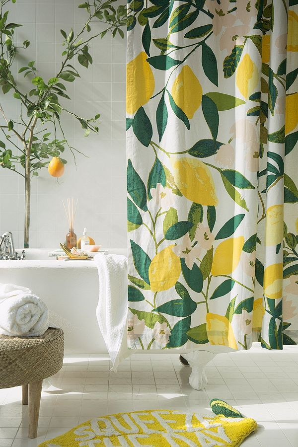 Allover Fruits Shower Curtain Urban Outfitters Curtains Home