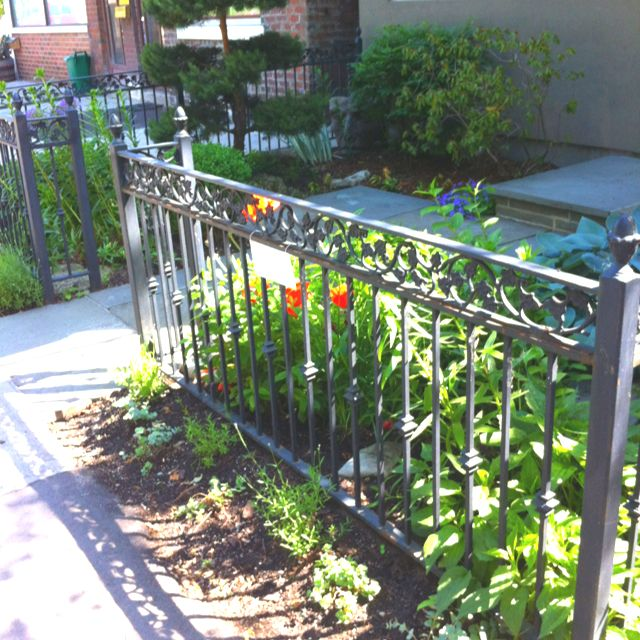 Front yard fence | backyard ideas | Pinterest | Diy fence ...