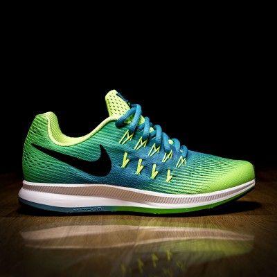 Nike Zoom Pegasus 33 GS Volt Chlorine Blue/ATAF