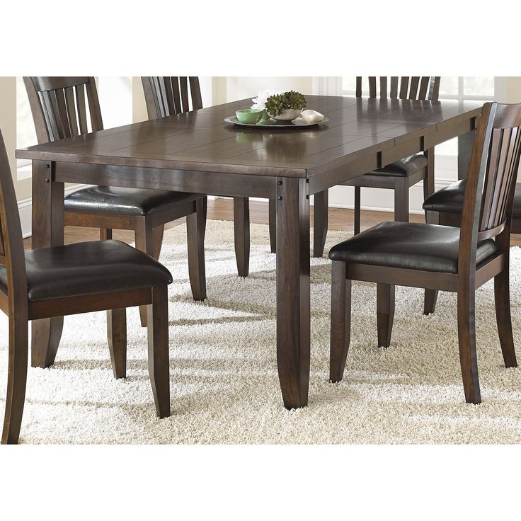 The Traditional Jacey Dining Table Highlights Old World Styling And A  Classic, Warm Brown Oak