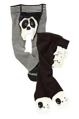 3-6 mth Buy Panda Tights Two Pack (0-18mths) from the Next UK online shop