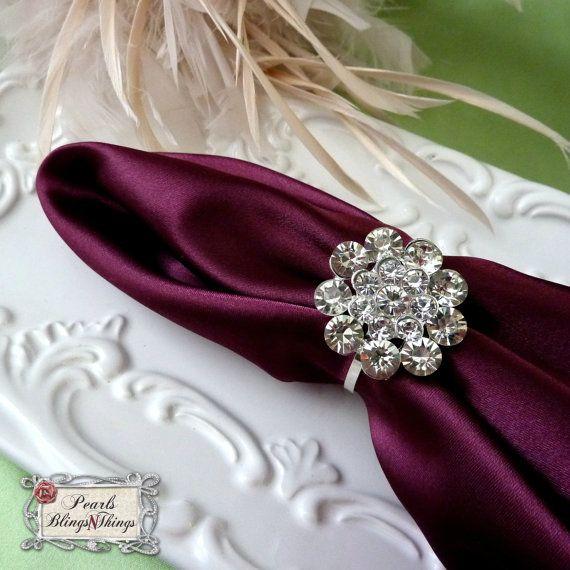 221 best diy napkin rings images on Pinterest Napkin rings