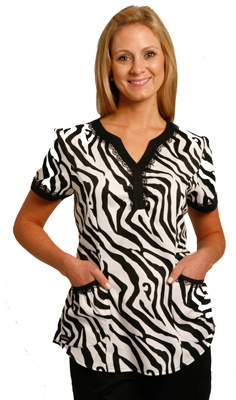 Zebra Scrubs, deff a gotta have when I'm in the medical field!!!!!