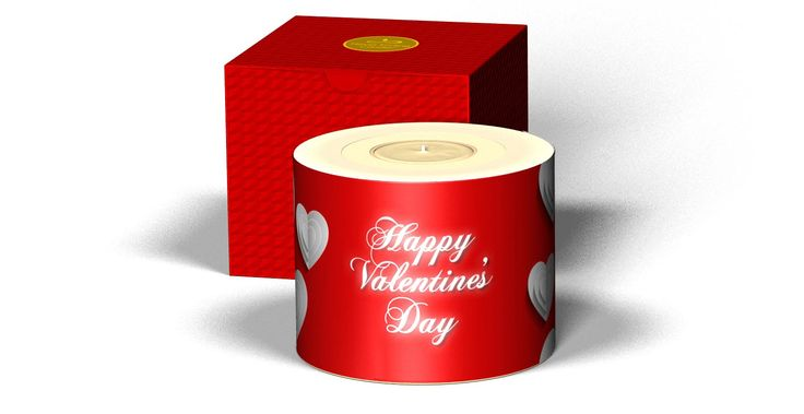 Valentine's Never Ending Candle.Just add a photo of your loved one. www.neverendingcandle.com