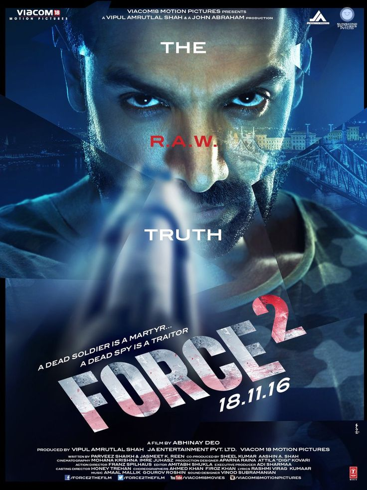 Here's we present the official trailer of upcoming Bollywood action movie Force 2. The film starring John Abraham, Sonakshi Sinha