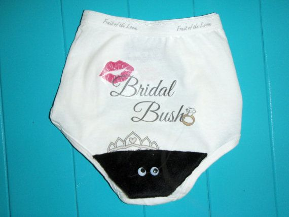 Hey, I found this really awesome Etsy listing at https://www.etsy.com/listing/108921847/bridal-bush-panty-for-your-bachelorette
