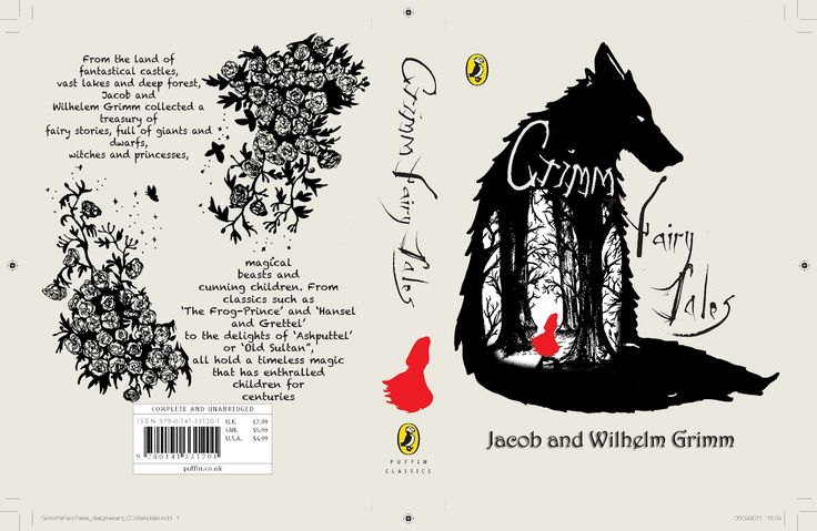 LIAM OXLEY: This is one of the book covers to the Brothers Grimm fairy tales ans is a great example of constrained visual language. The wolf is a stencil like image containing the forest , implying that the wolf own the forest. you then see a red image of a girl which contrast the all black and white of the cover, showing how out of place red riding hood is in the forest.