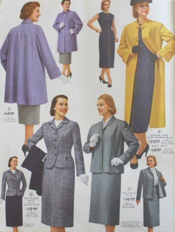 1950s Plus Size Fashion And Clothing History Vintage Style