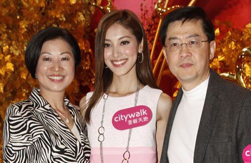 Grace Chan's parents have not met Kevin Cheng yet, but they have a very good impression of him.