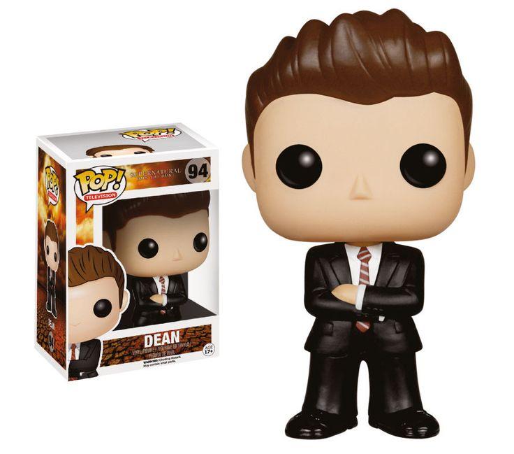Supernatural POP! Vinyl Figur Dean FBI Outfit 10 cm Supernatural - Hadesflamme - Merchandise - Onlineshop für alles was das (Fan) Herz begehrt!
