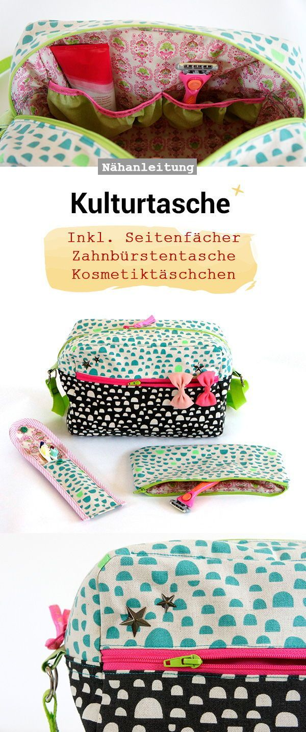 Sewing bag with handle for carrying and hanging, sewing pattern and sewing … -…