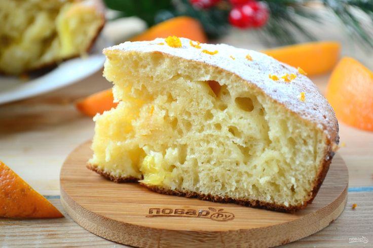 Быстрый апельсиновый пирог на скорую руку