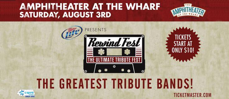 Rewind Fest at The Wharf Orange Beach!