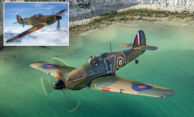 Stunning photographs show Hurricane plane used in Battle of Britain