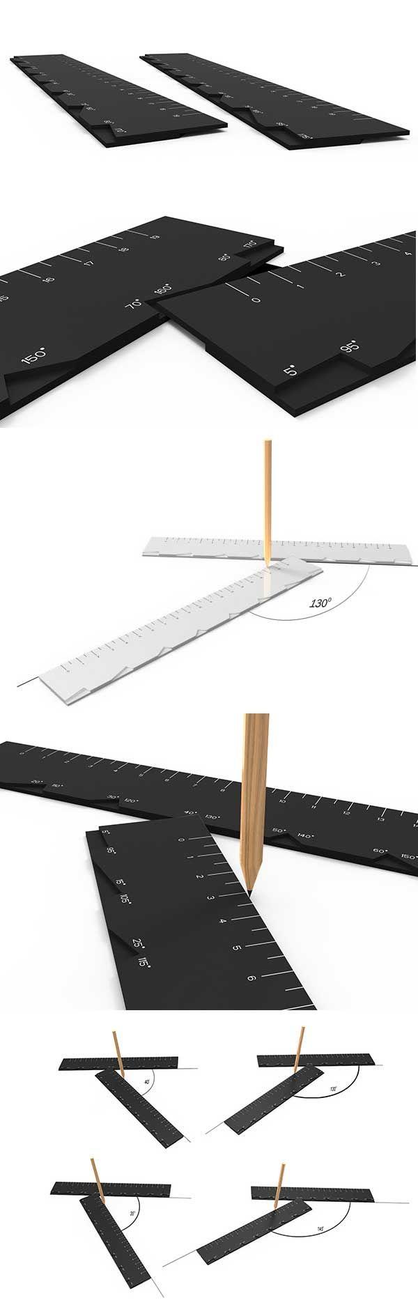 #Creative# ruler design: ZigZag