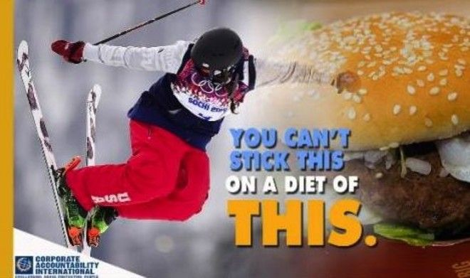 Groups call on Olympians to reject McDonald's sponsorship #Olympics #Sochi #McDonalds