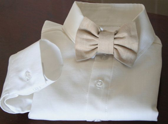 Shirt vest pants and bowtie / Ring bearer outfit / by DressesAnd, $125.00