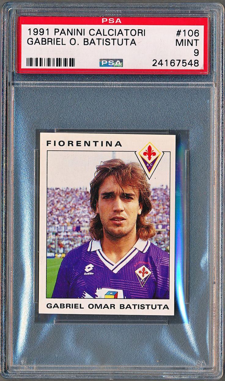 1991 Panini Calciatori Gabriel Batistuta