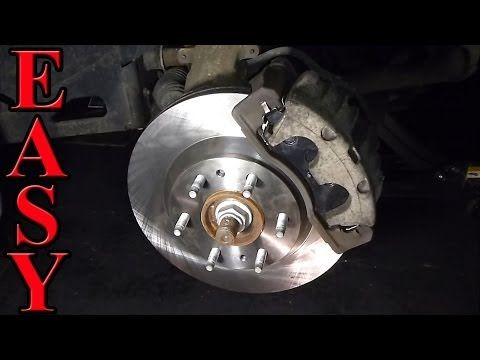 Front Brake Pad and Rotor Replacement - YouTube