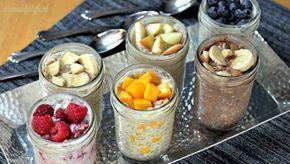 Havermout ontbijt, voor als het 's ochtends snel moet gaan.