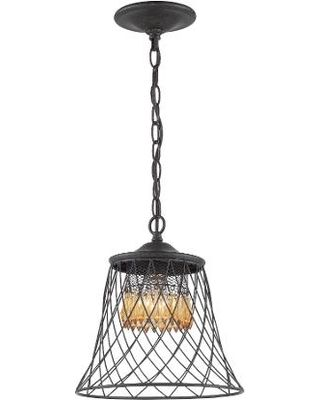 Varaluz Varaluz 249M01BZ Traditional Pendant Lights Forged Iron from 1-800Lighting | BHG.com Shop