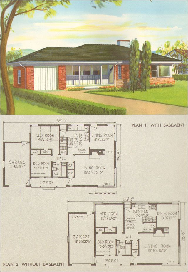 103 best images about vintage aladdin homes company floor for 1950 s floor plans