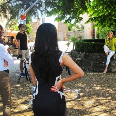Backstage photoshoot in worlds most exclusive #vineyard, the Brunello di Montalcino in Tuscany, #taly!  In fact this is  my fiancè's family vineyard.  Thanks to my team, Hair, makeup, video, camera,  and stylist for nothing would be possible without them!  Pleased to share this private moment with you! Cheers !