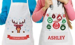 Groupon - Custom Kids' Aprons from Monogram Online. Groupon deal price: $5