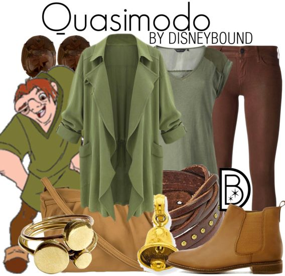 Stand up straight and proud in this Quasimodo Hunchback of Notre Dame outfit | Disneybound