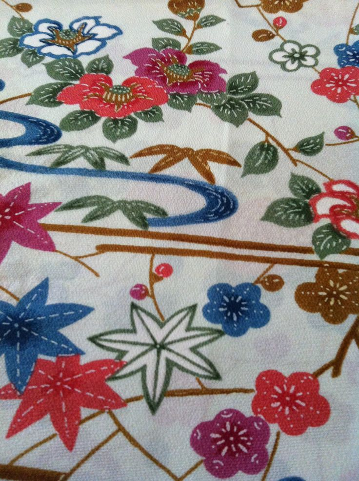 From my collection: vintage kimono............v