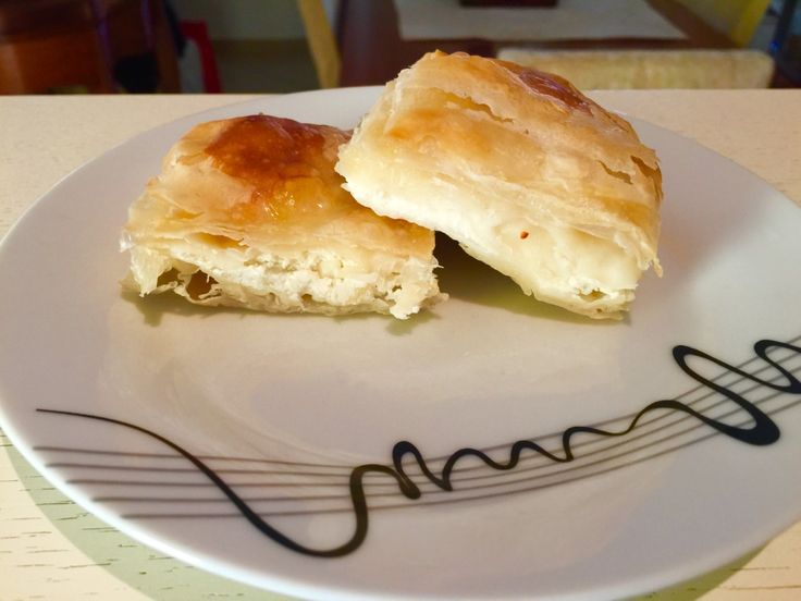 There is always a good reason to eat this authentic #Greek #tiropita!  Try this mouthwatering feta cheese #pie #recipe!