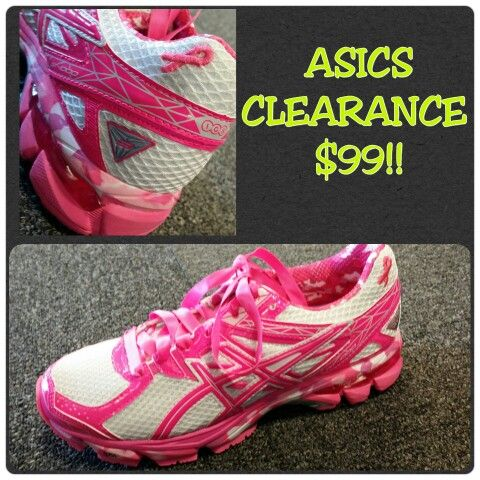 pink ribbon asics last few on clearance for 99 call as