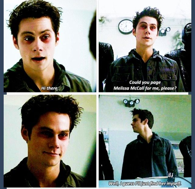 Teen Wolf Season 3B Divine Move; Void Stiles and the oni. I couldn't help but laugh a little at the last sentence…