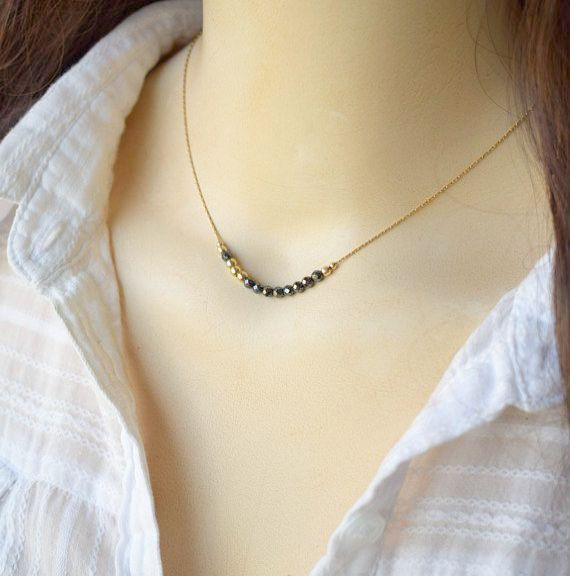 summer jewelry everyday necklace Paper jewelry eco friendly boho lightweight necklace