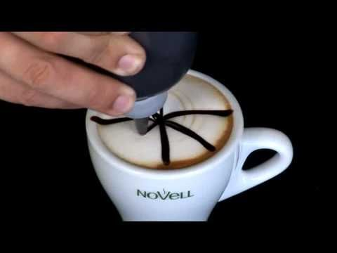 How To Make Easy Latte Art Beginner Tutorial 27 - YouTube