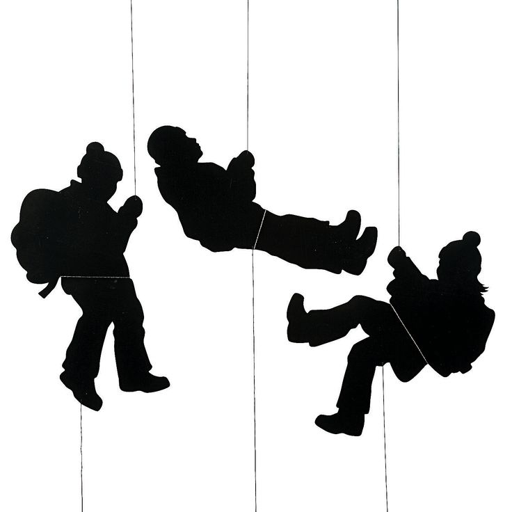 Hikers Hanging Decorations - OrientalTrading.com