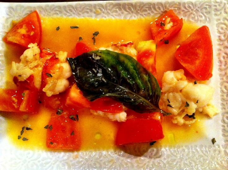 Poached Lobster With Vegetable Macedonia Recipes — Dishmaps