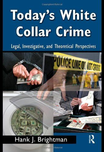 an introduction to white collar crime An introduction to corporate and white-collar crime provides readers with an  understanding of what white-collar crime is, how it works, and the extent to which .