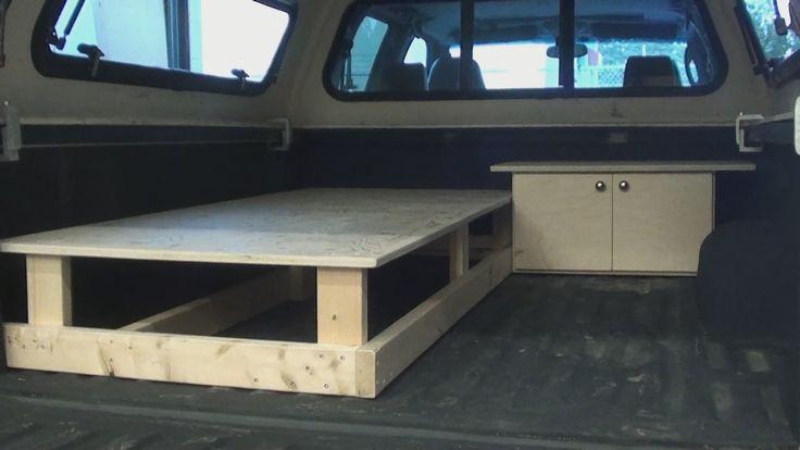 Truck Canopy Sleeper  -  Part One