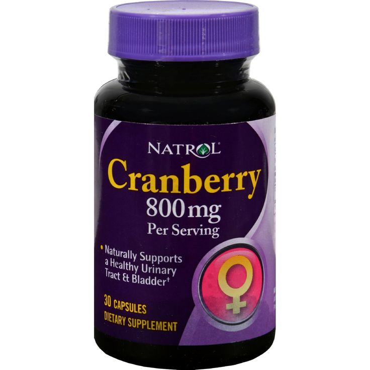 Natrol Cranberry Extract - 800 mg - 30 Capsules - Natrol Cranberry Extract Description:   Naturally Supports a Healthy Urinary Tract and Bladder Cranberry relies on the clinically proven benefits of cranberry to help support a healthy bladder and urinary tract. Each easy-to-swallow capsule provides 800 mg of cranberry a small red berry naturally infused with proanthocyanidins a powerful antioxidant that helps decrease bacterial adherence to the bladder epithelium cells. Free Of Yeast wheat…