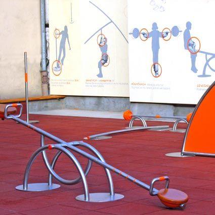 Interaktywny plac zabaw przy Muzeum Inżynierii Miejskiej w Krakowie