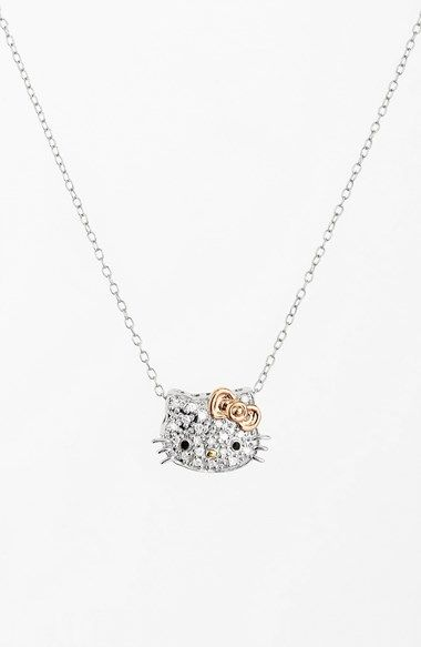 Hello kitty 257 pinterest hello kitty pav diamond pendant necklace nordstrom exclusive available at nordstrom mozeypictures Gallery