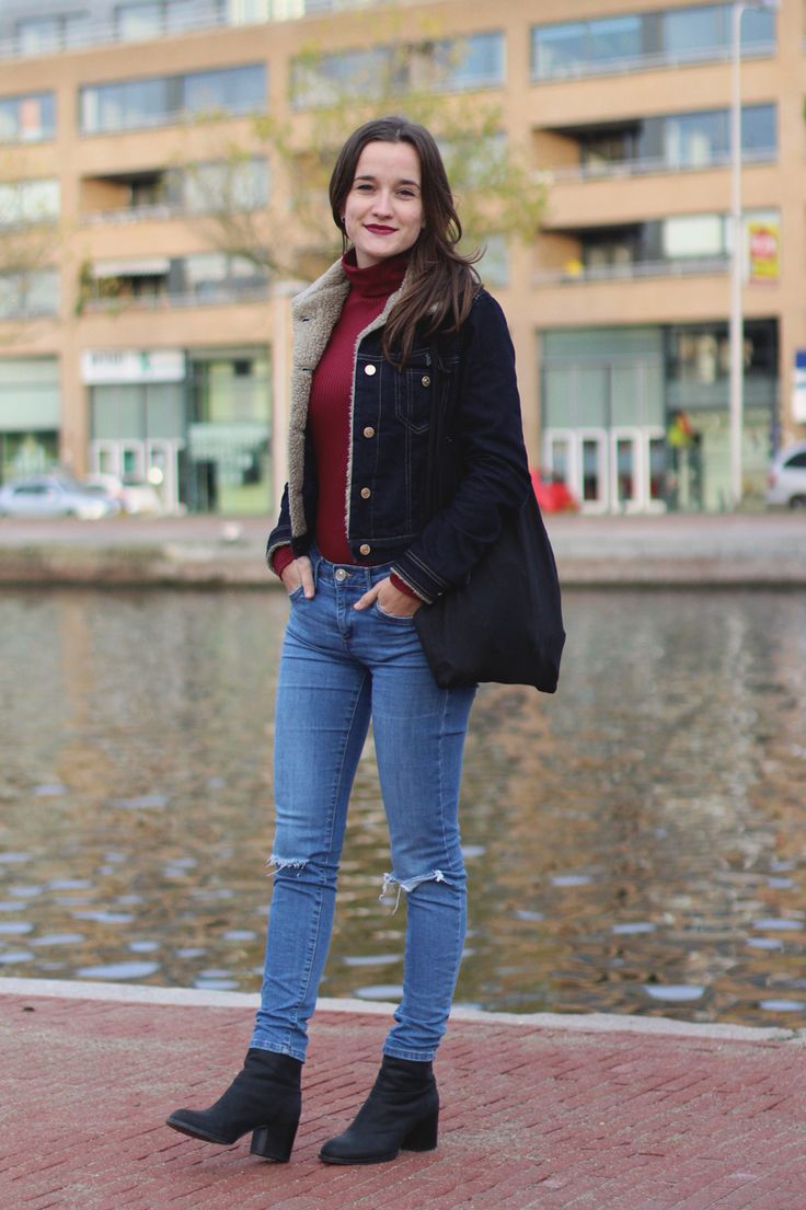 Fashiable, outfit, fashion, blogger, Urban Outfitters turtleneck, River Island jeans, & Other Stories boots