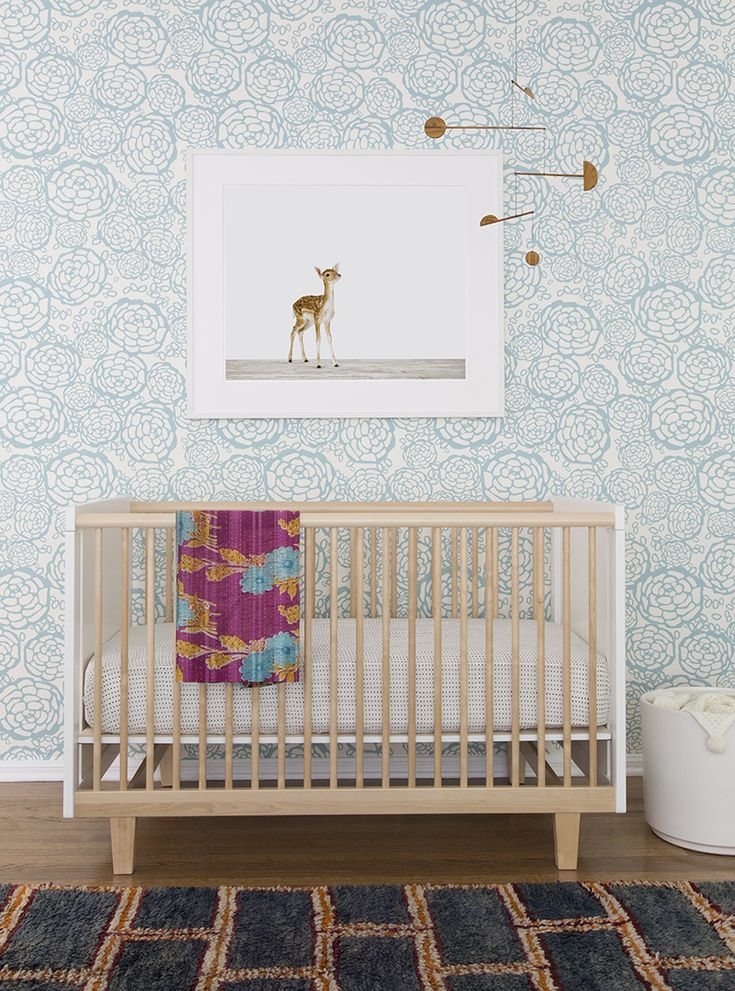 25 best ideas about baby wallpaper on pinterest baby for Baby mural wallpaper