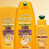 Triple Nutrition Curly Hair Care by Garnier. Browse sulfate free shampoos, conditioners, and treatments that nourish hair for stronger, frizz-free curls.