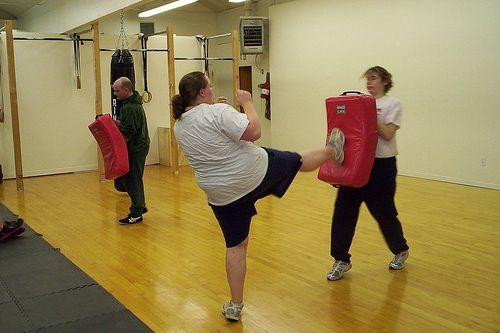 Krav Maga Stomp Kick OR Self-Defense & Fitness 7 / http://www.fitrippedandhealthy.com/krav-maga-stomp-kick-or-self-defense-fitness-7/