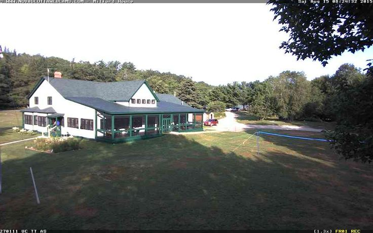 Nova Scotia Webcams - Milford House | 5296 Highway 8, Annapolis Royal