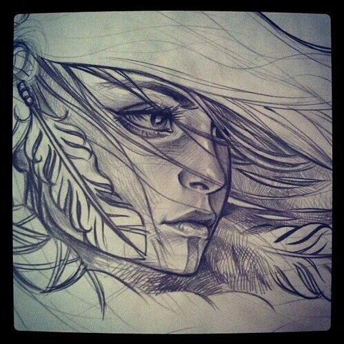 Imagen de drawing and feather
